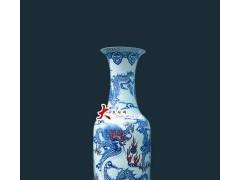 龙纹青花瓷釉里陶瓷大花瓶