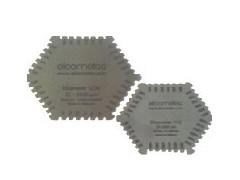 Elcometer 112六角湿膜梳