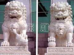 山西神匠雕塑供应石狮子雕像
