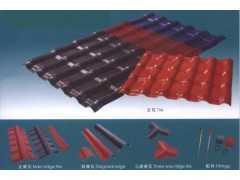 合成樹脂瓦.pvc瓦 .塑鋼瓦等各種瓦專用配件系列滴水檐系列