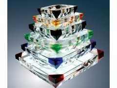 广州水晶钥匙扣,水晶烟灰缸批发定做,水晶中国象棋厂家
