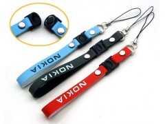 PVC软胶手机绳 卡通手机绳 创意