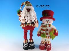 厂家直销 布艺圣诞老人