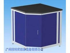 铝木结构转角台(五角柜)