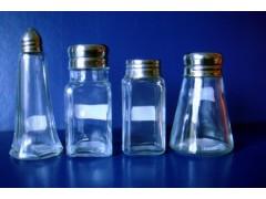 调料玻璃瓶 不锈钢盖 铝盖