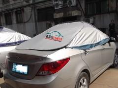夏季户外降温隔热汽车清凉罩 济宁汽车清凉罩贴牌定做