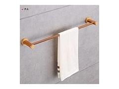 毛巾架,单杆毛巾架,木质毛巾架——共木卫浴