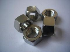 白钢螺母|白钢六角螺母|白钢螺帽|304白钢螺母