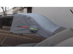 供应衣拉宝冬天户外汽车前挡玻璃防霜车衣,加厚防冻车半罩