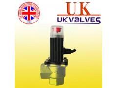 进口角式燃气紧急切断电磁阀,英国UK优科品牌