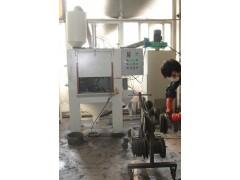 中山锯片喷砂机厂家,中山锯片表面翻新喷砂机