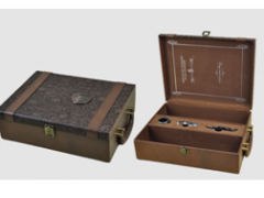供应红酒皮盒厂家|定做红酒皮盒|