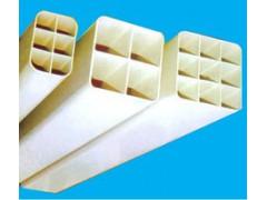 四孔格栅管穿线方管优质低价现货足发货快