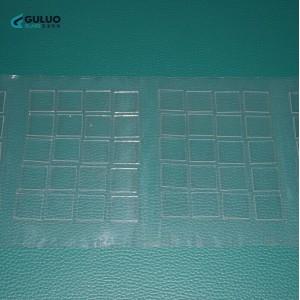 加工定制实验室 高平整度 钙钠玻璃镀膜用玻璃基底