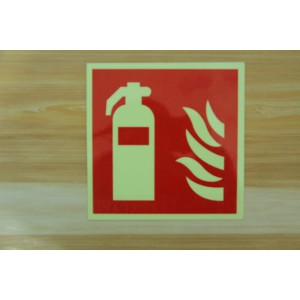 消防警示标牌,夜光标牌,灭火器指示标示牌 消防器材