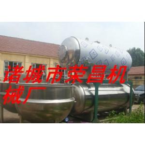 不锈钢双层水浴式杀菌锅 热水循环熟食杀菌锅