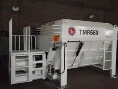 供应7立方固定卧式TMR饲料搅拌机