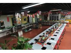 巴中回转式火锅设备 旋转韩式寿司设备优惠卖