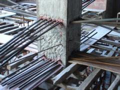 海淀区航天桥专业柱子扩大植筋打孔加固 梁柱植筋打孔