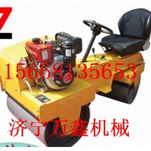 济宁万鑫机械生产厂家   座驾式双钢轮振动压路机