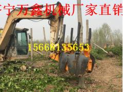 济宁万鑫厂家直销 大型挖树机  大型瓣式挖树机的刀片经久耐用