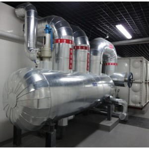 镀锌板设备管道保温施工罐体彩钢板保温防腐工程