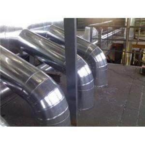 铁皮聚氨酯喷涂保温工程施工流程管道罐体防腐保温施工队