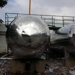 铁皮硅酸盐罐体防腐保温工程施工队管道设备保温施工