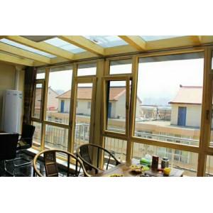 贝科利尔设计精美铝包木阳光房