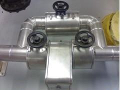 硅酸铝毯白铁皮罐体保温工程管道保温施工流程