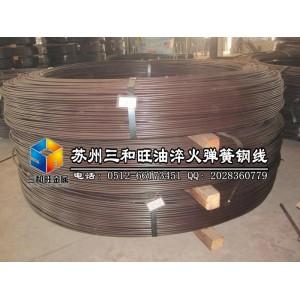 日本进口优质锰钢线,T9A油淬火弹簧钢线