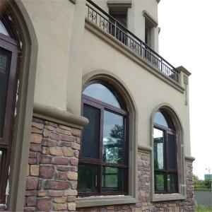 异形铝包木门窗高端定制-泰州市贝科利尔门窗