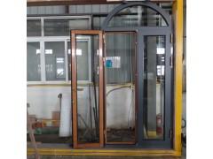 弧形顶异形铝包木门铝包木窗泰州市贝科利尔门窗个性化定制生产厂家