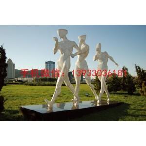 人物景观雕塑,不锈钢雕塑 广场景观不锈钢雕塑