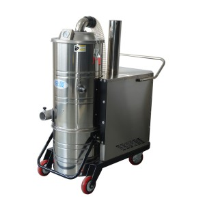 杭州重工业车间吸设备油污灰尘用吸尘器 依晨380V工业吸尘报价
