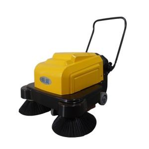 车间过道清扫地面厚灰尘用扫地机|南京依晨电动扫地机专卖