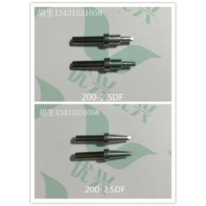 200-2.5DF马达转子自动焊锡机加锡焊线烙铁头