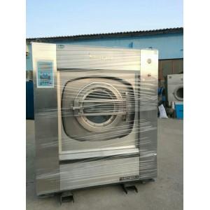 周口洗床单台布的二手100公斤全自动水洗机二手折叠机