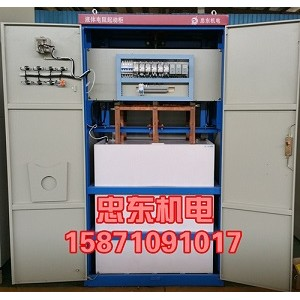 球磨机配用电机功率为380KW/380V水阻柜