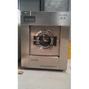 南阳出售洗工装用二手水洗机,二手鸿尔50公斤烘干机
