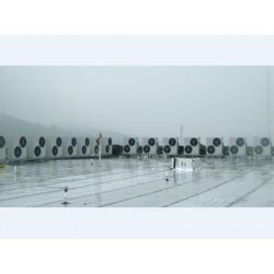 清远市佛冈县空气能热水器批发销售,工厂宿舍空气能热泵安装