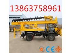 ZX-360°輪式打樁機小型打樁機|地基打樁機|太陽能光伏旋挖鉆機