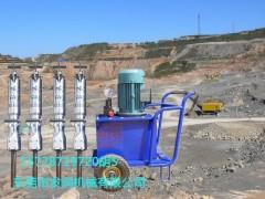 矿山快速开采新设备岩石液压劈裂机