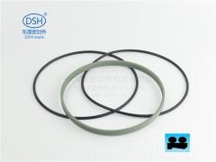 广东密封防尘圈双O型防尘圈DPE防尘密封圈生产厂家