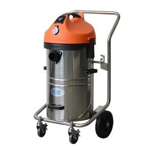 家具厂清理机器油污木屑用工业吸尘器|依晨YZ-1245工厂专用