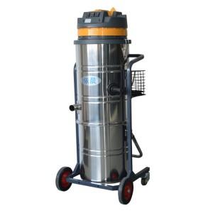 粮食面粉加工厂吸超细粉尘颗粒物用工业吸尘器|依晨工业吸尘器厂家