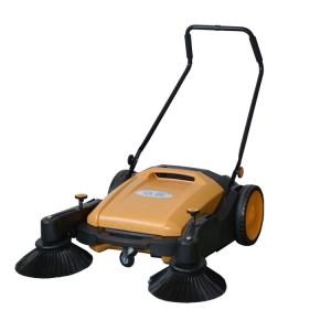 宁波工业用扫地机专卖|户外扫树叶烟盒用依晨无动力扫地机