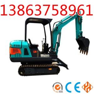 生产销售DLS815-9农用小型挖掘机参数