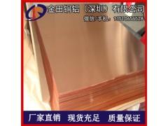 C1100高清铜板,高纯度T1红铜板可切割,T2优质紫铜板