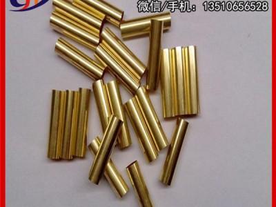 H62无缝黄铜管材 环保黄铜管,H59黄铜管5x0.25mm
